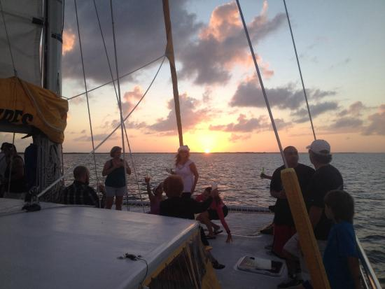 Keys Adventures Watersports: Sunset sail aboard the privateer