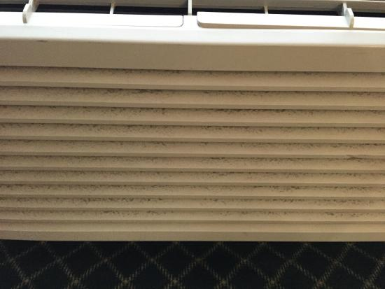 Quality Inn and Suites: Dust much?