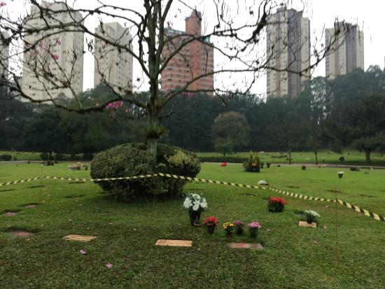 Senna's Grave Morumbi Cemetery: セナのお墓