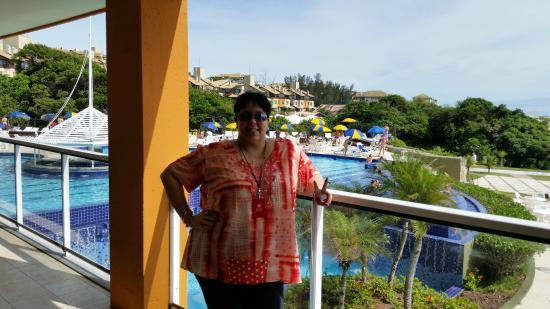 Costao do Santinho Resort Golf & Spa: Vista da varanda Do restaurante do café Ala Internacional