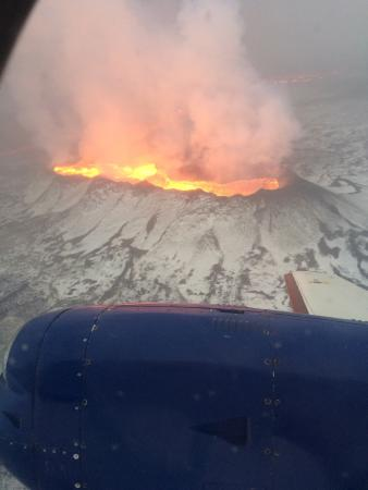 Eagle Air Adventure Tours: Volcanotour, amazing! The pilot took a couple of extra rounds so we could get a good view of the