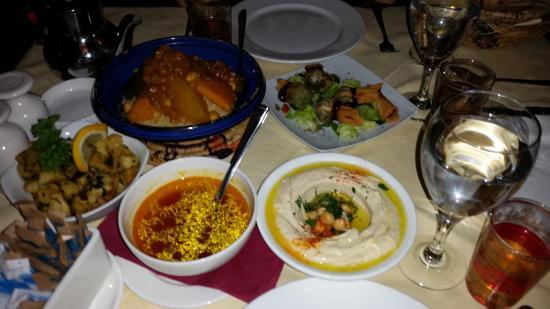Sidi Maarouf: our dinner