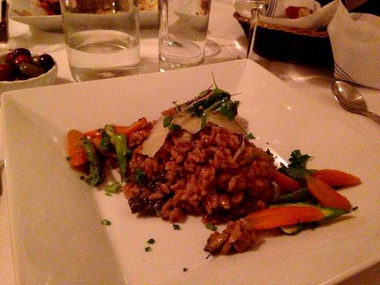 Parker House Inn and Restaurant : Mushroom risotto