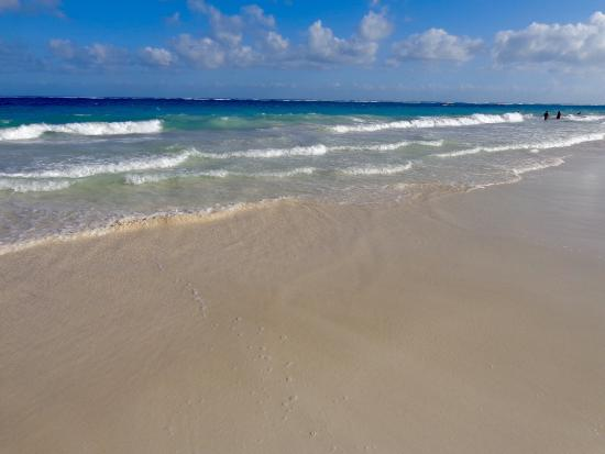 Bleu Magic Raiatea: Beach at Tulum. The nicest one I've been to in the Mayan Riviera.