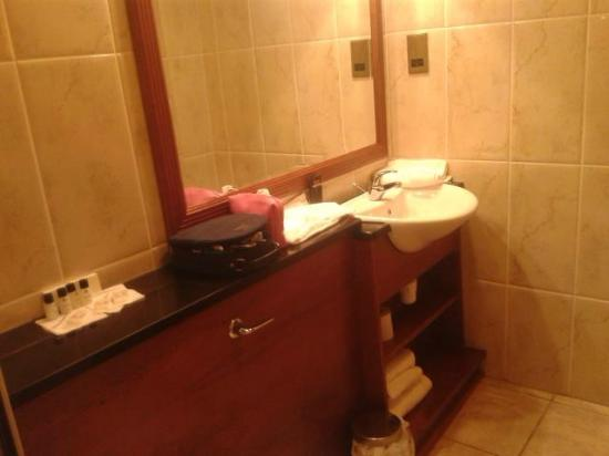 Westenra Arms Hotel: Bathroom
