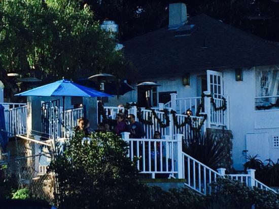 Brockton Villa Restaurant: Great patio!