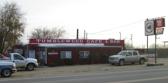 Fellows, CA: Tumbleweed Cafe