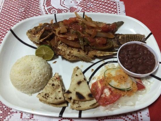 Hotelito Y Restaurante Aly: My last meal - I enjoyed it