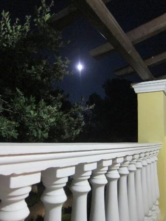 Dionysos Apartments: Moon from the balcony
