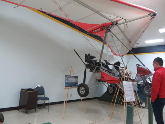 National Border Patrol Museum: Hang Glider used for smuggling drugs
