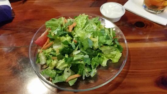 Louisiana Longhorn Cafe : Small salad