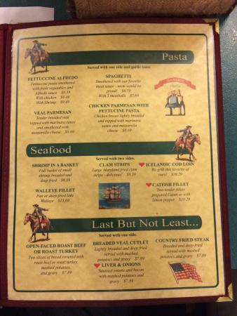 Paul Revere Family Restaurant