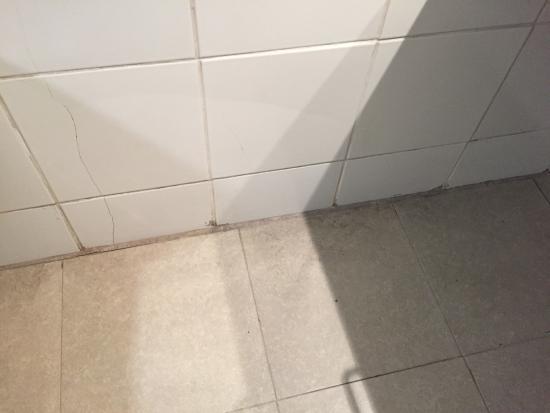 El Dorado San Agustin: Tile at bathroom