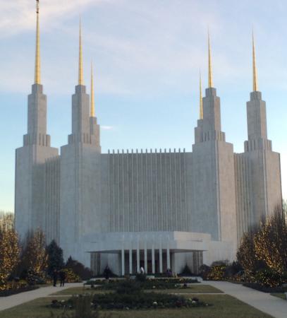 Washington D.C. Temple Visitors' Center: The Temple