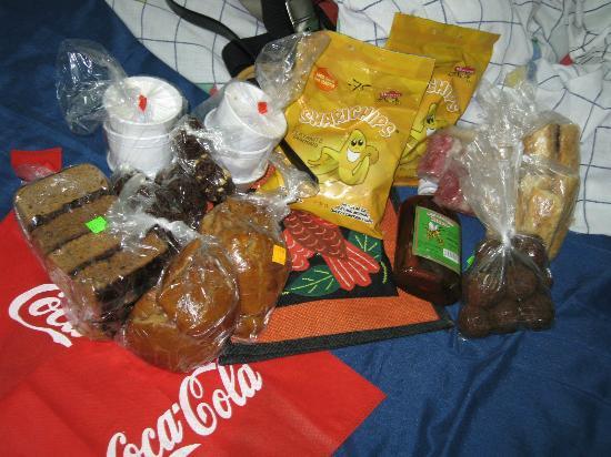 Sunday Market : Dulces comprados en el Mercado