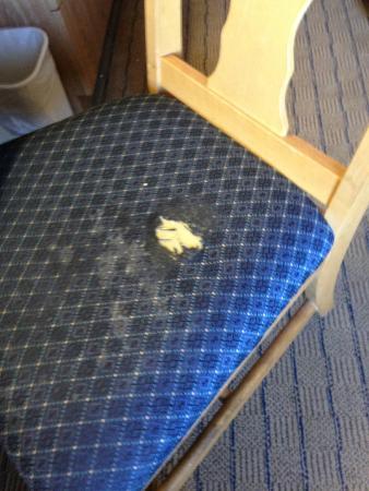 Sleep Inn: Desk chair in room