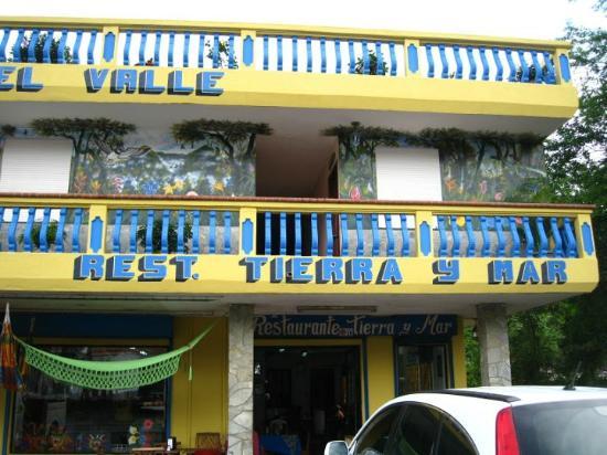 Restaurante Tierra y Mar: Restaurante en planta baja del Hotel Residencial El Valle