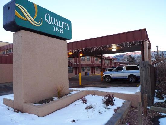 Quality Inn Durango: Exterior of Quality Inn, Durango