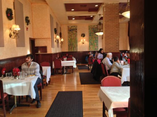 Rezas Restaurant Dining Room On The Right Of Entrance