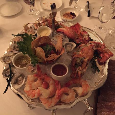 Splendido at the Chateau: Shellfish platter splendid size