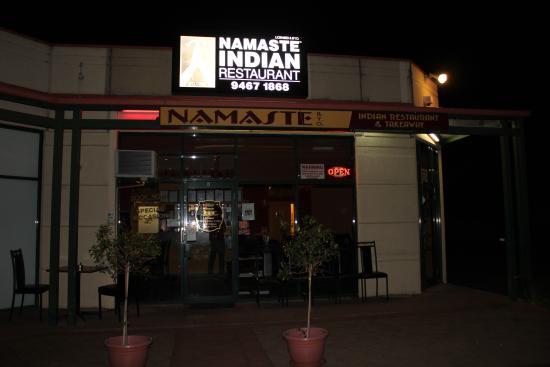 Namaste Indian Restaurant: Restaurant Front