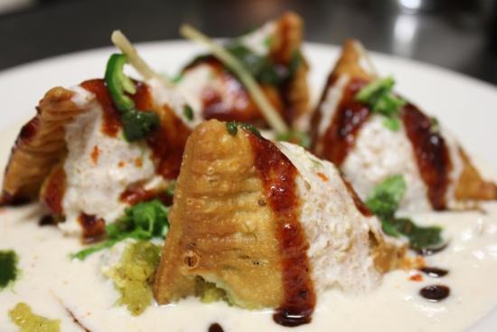 Namaste Indian Restaurant: Samosa Chaat