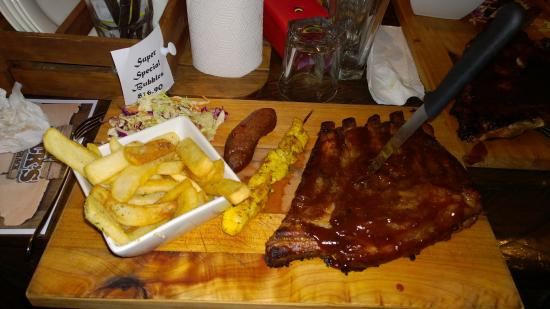 Jimmy Jack's Rib Shack: Great Meal