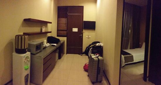 100 Sunset Boutique Hotel : Family room - Entrance.