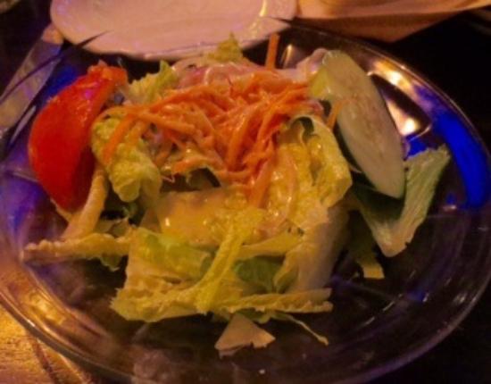 Mazzeo's Ristorante : So-so salad