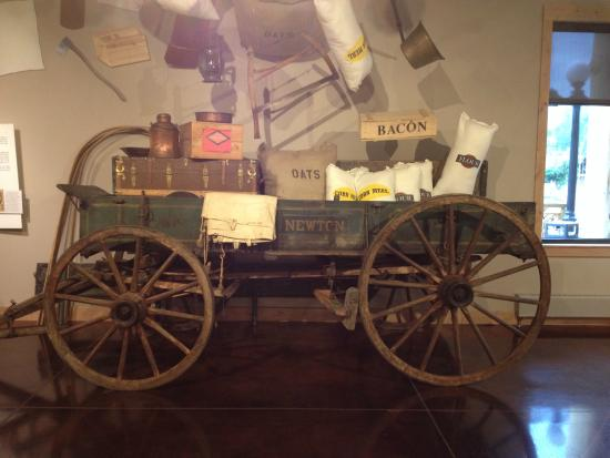 Days of '76 Museum: Wagon