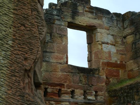 ruins of coal mines historic site