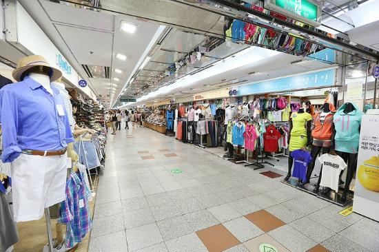 Incheon, Güney Kore: Bupyeong underground market