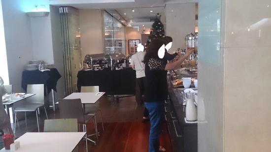 The Sebel Brisbane: Breakfast Area