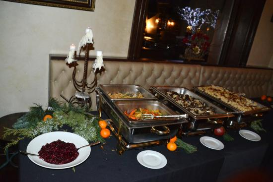 Justice Snow's Restaurant and Bar: Thanksgiving Buffet 2014.