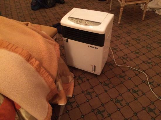 Hotel Metropole : Le Chauffage De Ma Chambre Nous Avons Eu Droit à Ce Chauffage  D