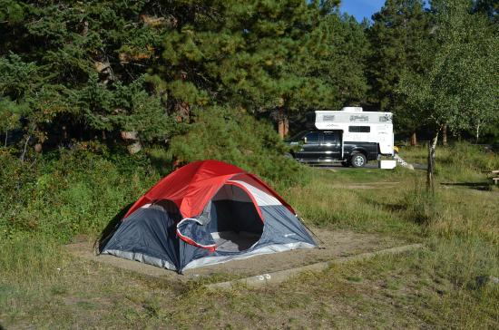 Aspenglen Campground, Rocky Mountain National Park: Site #33