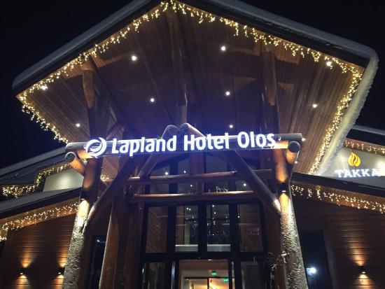 Lapland Hotel Olos : Entrance