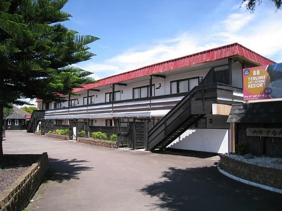 Terume Resort: View of the 12-room resort
