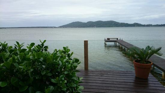 Girassois da Lagoa Guesthouse: Varanda da suite master