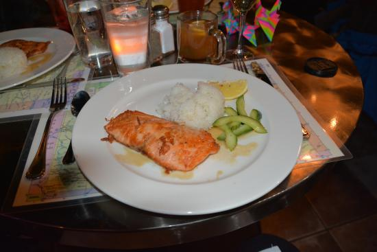 The Village Table: Pan-seared Salmon