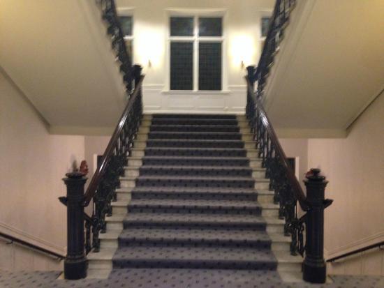 Elite Hotel Mollberg: Stairs