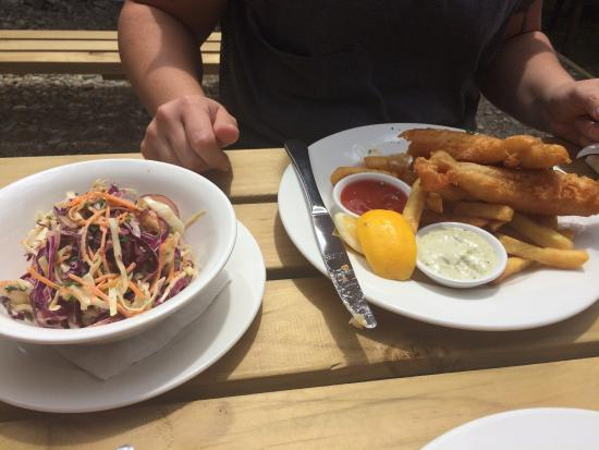Fish of the day picture of argosy cafe take away for Fish restaurant marlborough