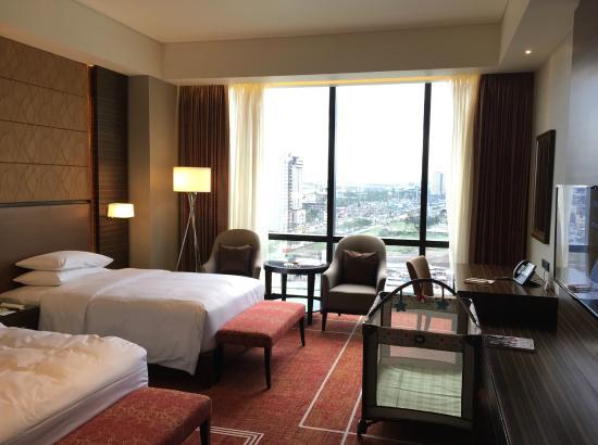 Bedroom picture of hyatt city of dreams manila for T and c bedrooms reviews