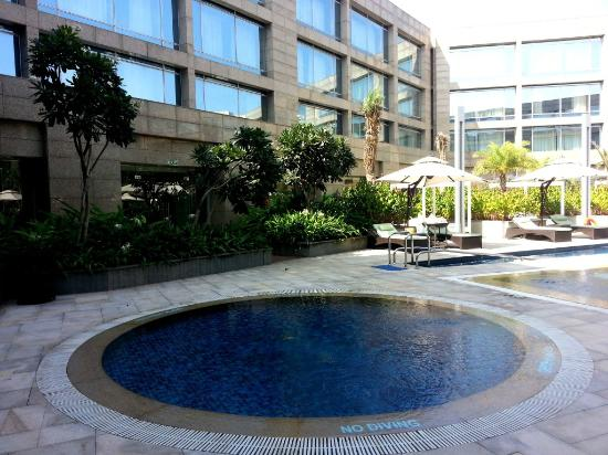 Pool Area Picture Of Hilton Bangalore Embassy Golflinks