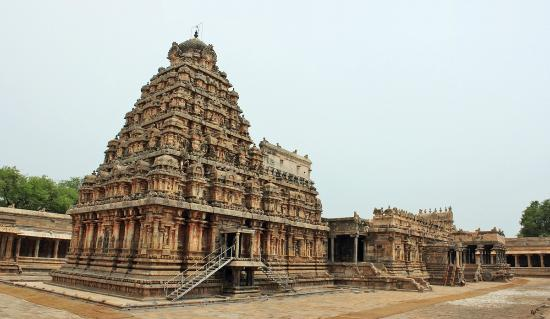 Airavatesvara Temple: Temple (Rear side)