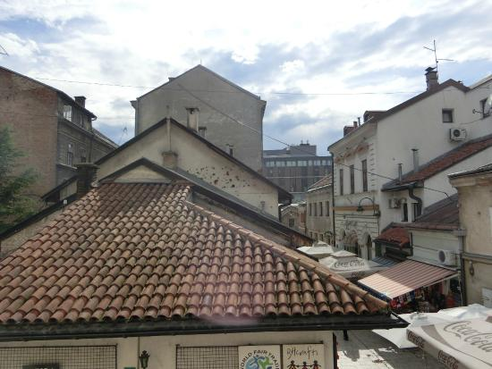 Hotel Old Town: View from a window