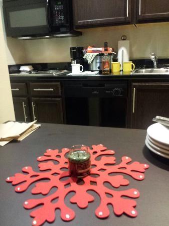 Homewood Suites by Hilton Fort Wayne : Christmad in Ft Wayne. Making it homey.