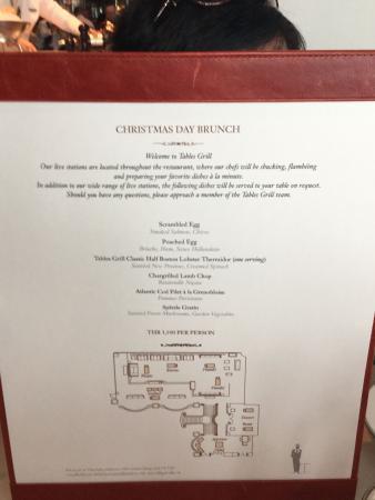 Part of the menu - Picture of Tables Grill at Grand Hyatt Erawan ...