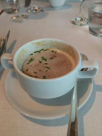 Tables Grill at Grand Hyatt Erawan Bangkok: Lobster Bisque