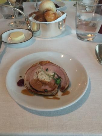 Tables Grill at Grand Hyatt Erawan Bangkok: Stuffed turkey